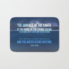 The Shores of the Cosmic Ocean Bath Mat