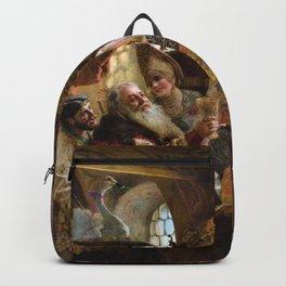 A Boyar Wedding Feast - Konstantin Makovsky Backpack