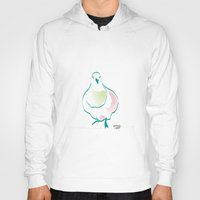 pigeon Hoodies featuring Pigeon by 1 monde à part