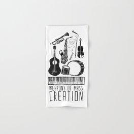 Weapons Of Mass Creation - Music Hand & Bath Towel