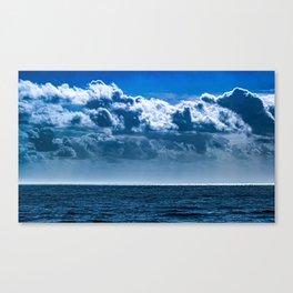 Layered Cloud Sky Canvas Print