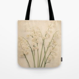 Scents of Spring - Lily of the Valley v Tote Bag