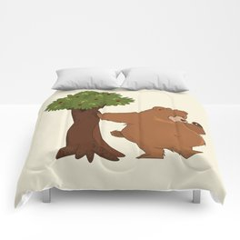 Bear and Madrono Comforters