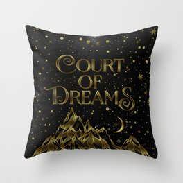 Court of Dreams Throw Pillow