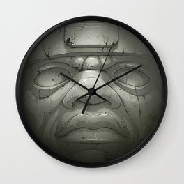 Olmeca I. Wall Clock