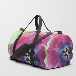 Pigment Tulip (indigo tones) Duffle Bag