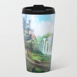 epic fantasy castle  Travel Mug