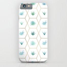 Geometric Succulents iPhone Case