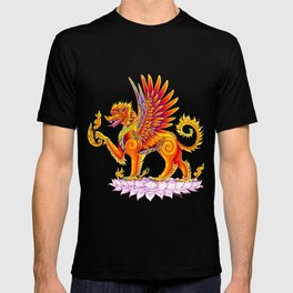 Singha Winged Lion Temple Guardian T-shirt