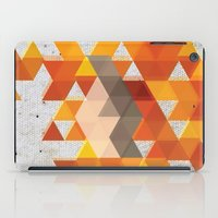 crossfit iPad Cases featuring Geometric Penguin by Joel M Young