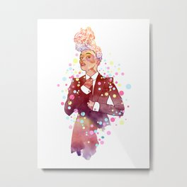 Janelle Monae's Neon Dream Metal Print