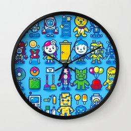 HELLO! STRANGE COMPANION Wall Clock