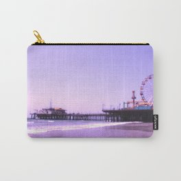 Santa Monica Pier Purple Hearts Carry-All Pouch