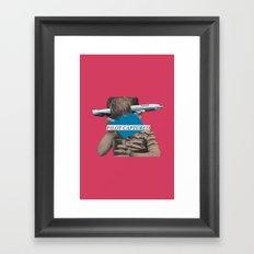 Pilot Captured Framed Art Print