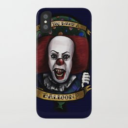 """Don't you want a ballon?"" iPhone Case"