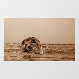 The SEAL - sepia 17 Rug