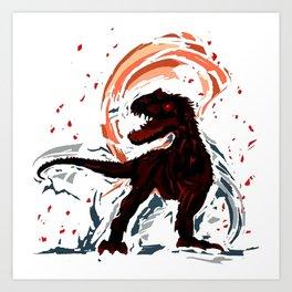 Dinosaur Part 2 Art Print