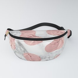 Marble Gold Session III-XVIII Fanny Pack
