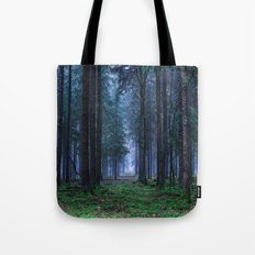 Green Magic Forest Tote Bag