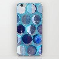 calendar iPhone & iPod Skins featuring lunar calendar by marella