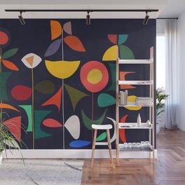 Klee's Garden Wall Mural