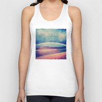 bows Tank Tops featuring When It Rains, It Bows by Deepti Munshaw