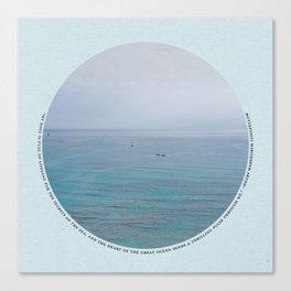 Secrets of the Sea Canvas Print
