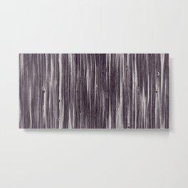 Old brown gray plate Metal Print