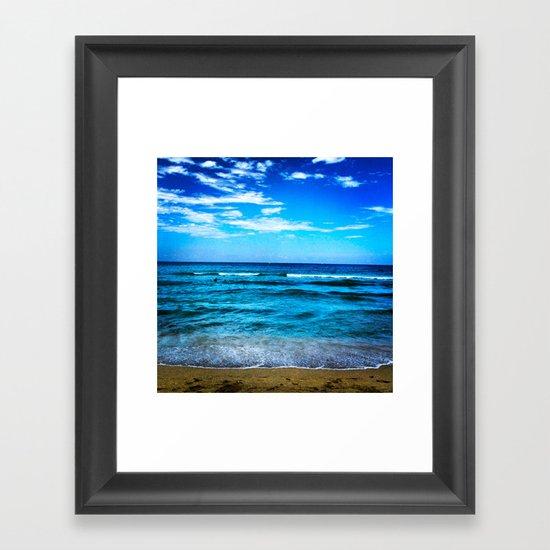 Miami Beach Framed Art Print