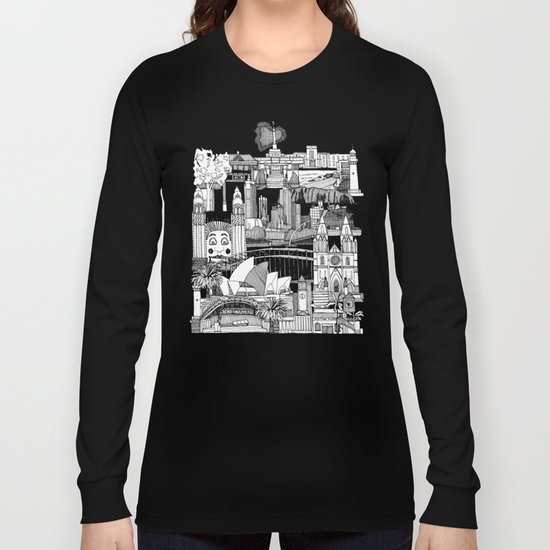 AUSTRALIA toile de jouy Long Sleeve T-shirt