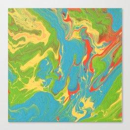 Paint Pouring 7 Canvas Print