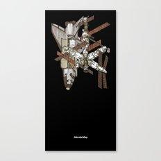 Atlantis/Mir Canvas Print