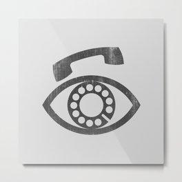 eyePhone Metal Print