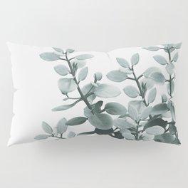 Eucalyptus Leaves Green Vibes #1 #foliage #decor #art #society6 Pillow Sham