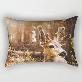 a deer at the yosemite national parl Rectangular Pillow
