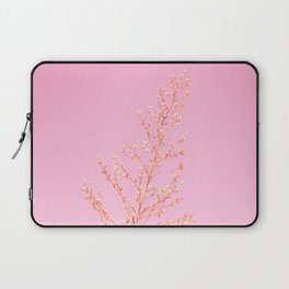 Seeds of Weeds in Pink Laptop Sleeve