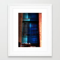 manchester Framed Art Prints featuring Manchester Pigeons by Caroline Benzies Photography