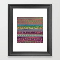 Ethnic Bracelet Framed Art Print