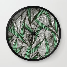 Leavy Wall Clock