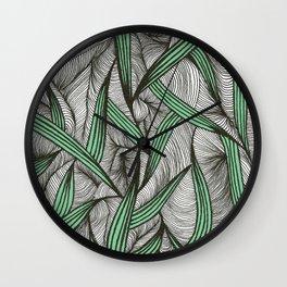 Leavy Wall Clock