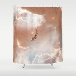 Sky Ram Shower Curtain