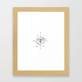 Buzz Framed Art Print
