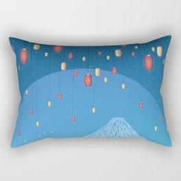 Catching Fireflies Rectangular Pillow