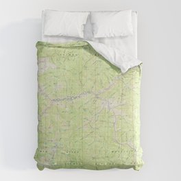 ID Bighorn Crags 239353 1982 topographic map Comforters