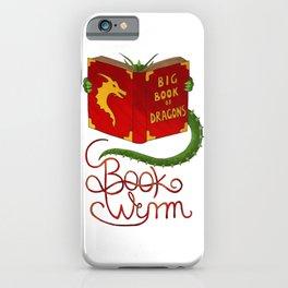 Book Wyrm iPhone Case
