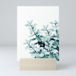 Eucalyptus Leaves Green Vibes #2 #foliage #decor #art #society6 Mini Art Print