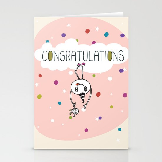 Congratulations! Stationery Cards