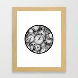 Time Inside of Time Framed Art Print
