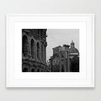 roman Framed Art Prints featuring Roman Wanderings by Upperleft Studios