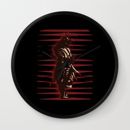 Silent Fighter Wall Clock